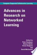 Advances In Research On Networked Learning Book PDF
