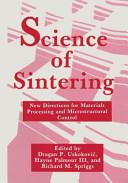 Science of Sintering