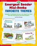 25 Emergent Reader Mini-Books Favorite Themes