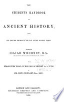 The Student S Handbook Of Ancient History