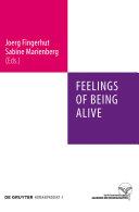 Feelings of Being Alive