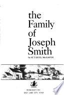 The Family of Joseph Smith
