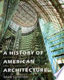 A History of American Architecture