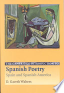 The Cambridge Introduction to Spanish Poetry  : Spain and Spanish America
