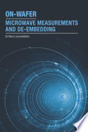 On Wafer Microwave Measurements and De embedding Book