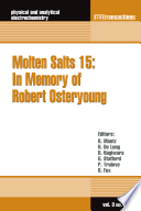 Molten Salts 15 Book