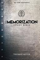 The Memorization Study Bible Pdf/ePub eBook