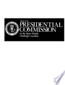 Report of the Presidential Commission on the Space Shuttle Challenger Accident
