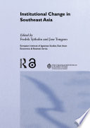 Institutional Change In Southeast Asia
