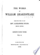 The Works of William Shakespeare  The taming of the shrew  All s well that ends well  Twelfth night  The winter s tale  King John  King Richard II
