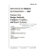 Advances In Design Automation 1987 Design Methods Computer Graphics And Expert Systems