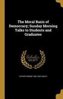 MORAL BASIS OF DEMOCRACY SUNDA
