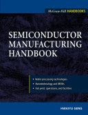 Semiconductor Manufacturing Handbook Book