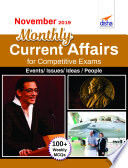November 2019 Monthly Current Affairs With Mcqs For Competitive Exams
