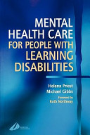 Mental Health Care For People With Learning Disabilities Book PDF