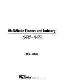 Pdf Who's Who in Finance and Industry 1998-1999