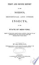 Reports on the Noxious  Beneficial and Other Insects of the State of New York Book