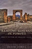 Reading Romans In Pompeii