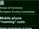 """Mobile phone """"roaming"""" costs"""