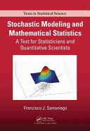 Pdf Stochastic Modeling and Mathematical Statistics