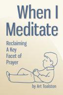 Pdf When I Meditate