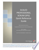 SPS Scaled Professional Scrum  Quick Reference Guide   Exam Questions