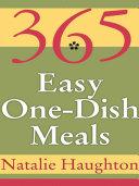 365 Easy One Dish Meals Pdf/ePub eBook
