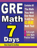 GRE Math in 7 Days