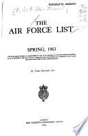The Air Force List