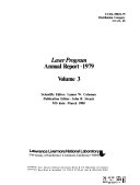 Laser Program Annual Report ebook
