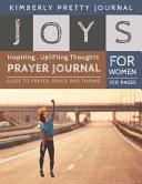 Joys Prayer Journal for Women