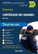 Concours Contrôleur des douanes - 2020/2021