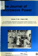The Journal of Microwave Power Book