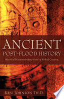 Ancient Post flood History Book