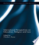 International Perspectives On Education Religion And Law
