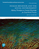Human Behavior and the Social Environment