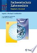 Fachwortschatz Zahnmedizin