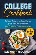 College Cookbook  2 Books in 1  Book PDF