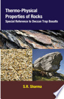 Thermo Physical Properties of Rocks  Special Reference to Deccan Trap Basalts