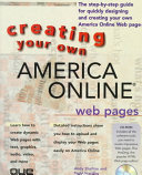 Creating Your Own America Online Web Pages