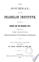The Journal Of The Franklin Instite