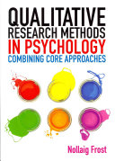 Qualitative Research Methods In Psychology  Combining Core Approaches