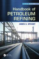 Handbook of Petroleum Refining Pdf/ePub eBook