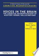 Cognitive Neuropsychiatry Book