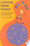 Licensing Digital Content Book