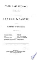 contaning minutes of evidence taken in the synods of Angus and Mearns, Perth and Stirling, Fife, Glasgow and Ayr, Galloway, Dumfries, Merse and Teviotdale, Lothian and Tweeddale