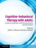 Cognitive-behavioral Therapy with Adults: A Guide to ...