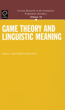 Game Theory and Linguistic Meaning