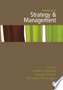 Handbook of Strategy and Management Book