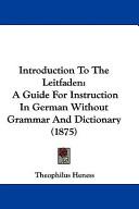 Introduction to the Leitfaden